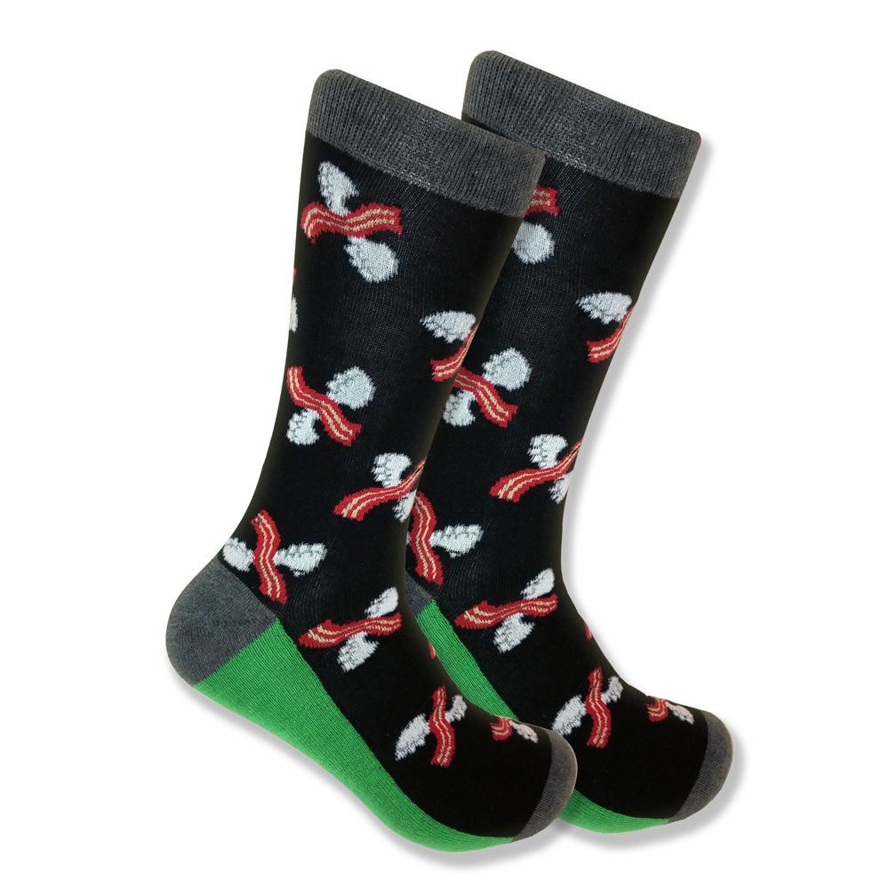 black-bacon-socks