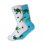 frogs-blue-white-mismatched