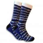 shark-sock-dark-blue